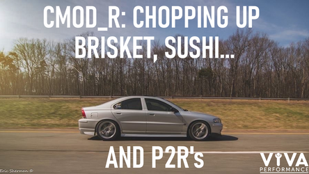 CMOD_R:  Chopping Up Brisket, Sushi, and P2R's