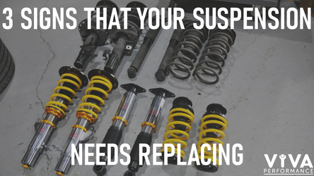 3 Signs Your Suspension Needs Replacing