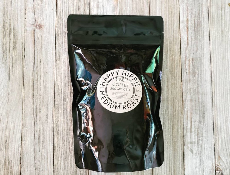 Happy Hippie CBD Coffee