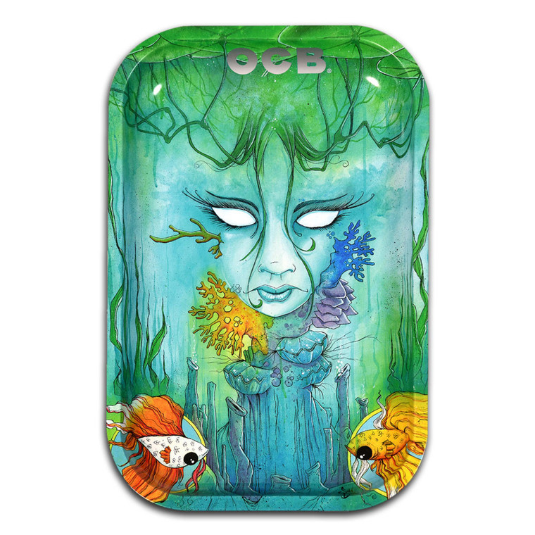 Underwater Lady Rolling Tray