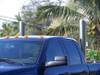 "HERE ARE PICTURES OF MY TRUCK WITH THE 6"" BY 48"" MITRE'S THAT I ORDERED FROM YOU. AND I'M LOVING EVERYTHING ABOUT IT . THE LOOKS AND SOUND OF IT IS AWSOME! IT REALLY TURN HEADS. MAHALO PLENTY, CODY CORPUZ FROM KAUAI, HAWAII."