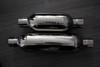 "Jones Full Boar Turbine Mufflers Resonated Performance Car & Truck Muffler 3"" Inlet/3"" Outlet"