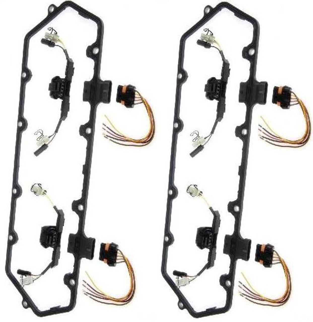 Dorman 94-97 Ford DUAL Valve Cover Gasket with Fuel Injector Wiring on radio harness, battery harness, pet harness, dog harness, electrical harness, cable harness, swing harness, fall protection harness, engine harness, amp bypass harness, safety harness, obd0 to obd1 conversion harness, maxi-seal harness, suspension harness, alpine stereo harness, nakamichi harness, oxygen sensor extension harness, pony harness,