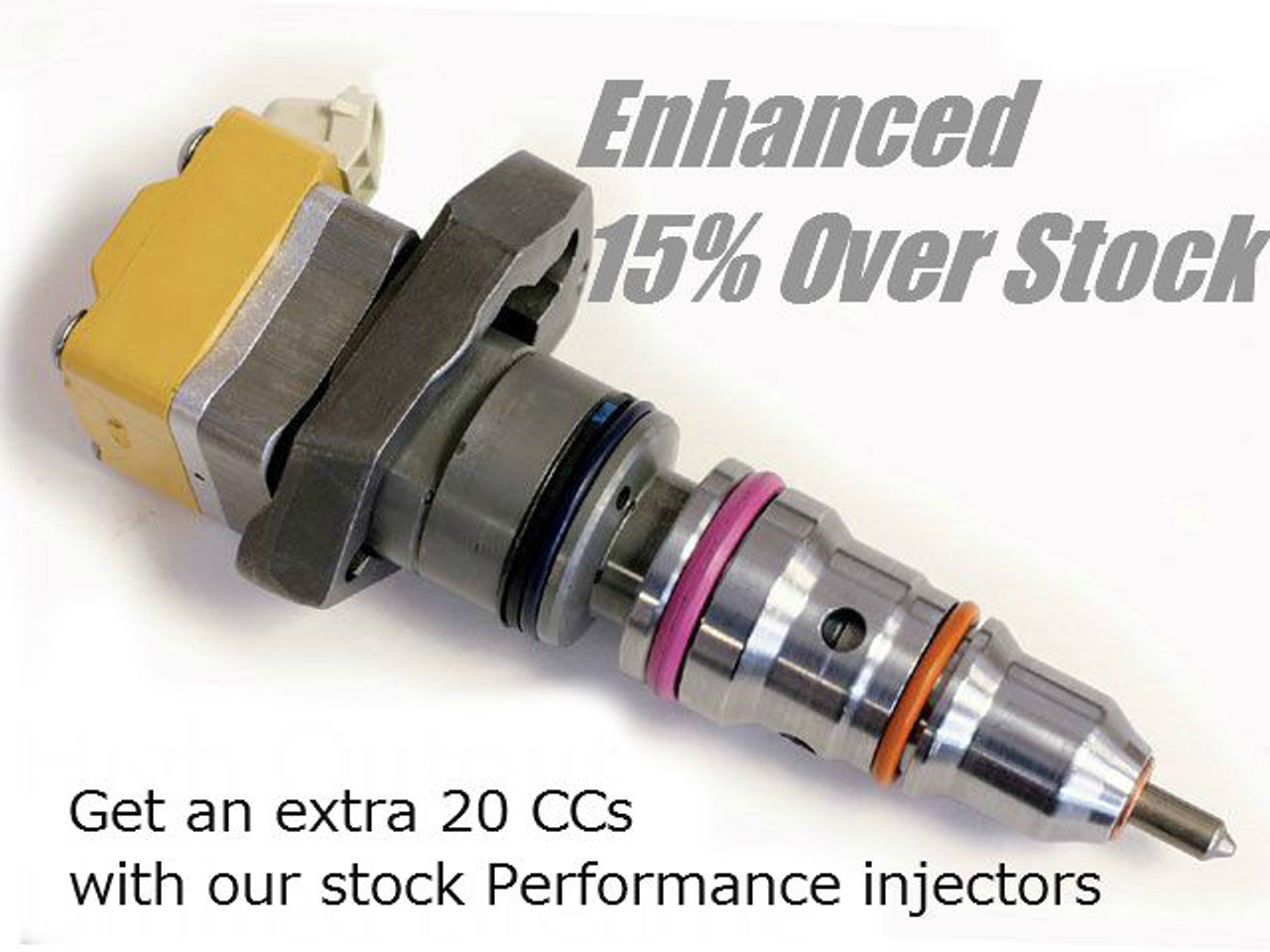 Udp Enhanced Stock Ad Injectors 1999 2003 Ford 7 3l Powerstroke