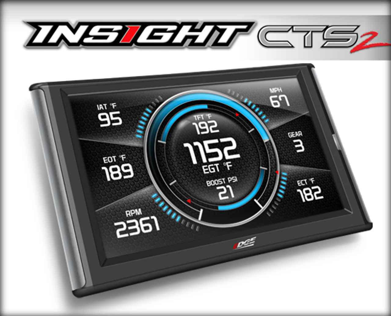 Edge Insight CTS2 Digital Gauge Display Color Touch Screen (Fits 1996 and  Newer OBDII-Enabled Vehicles)