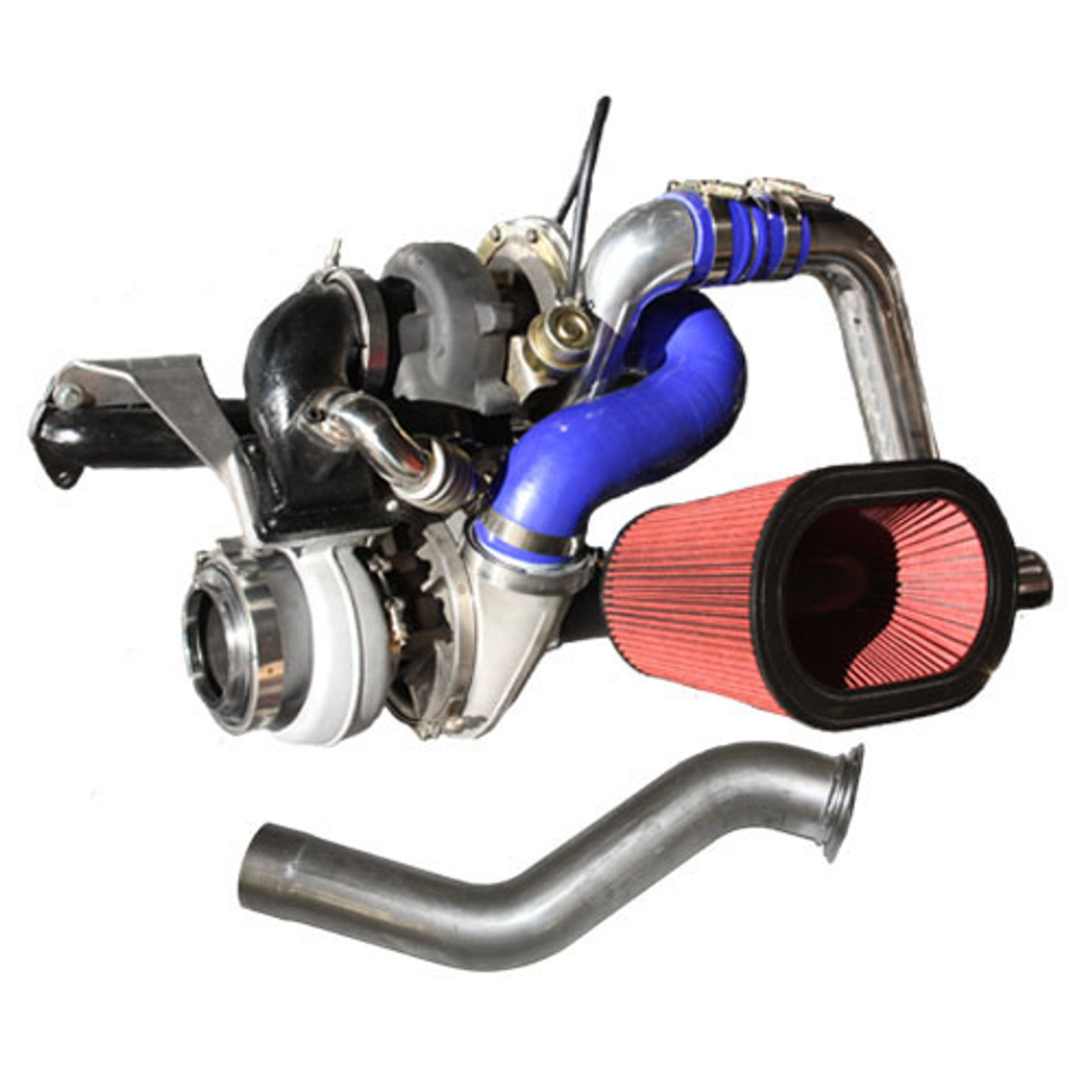 DPS S475 Twin (Compound) Turbo Kit S400 / S475 Turbo For Dodge Cummins  1994-98 5 9L Gen2 12V