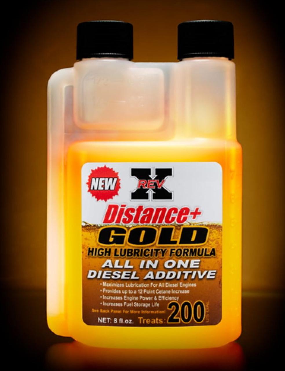 Diesel Fuel Additive Fuel Treatment Revx Distance Plus 8 Oz Bottle