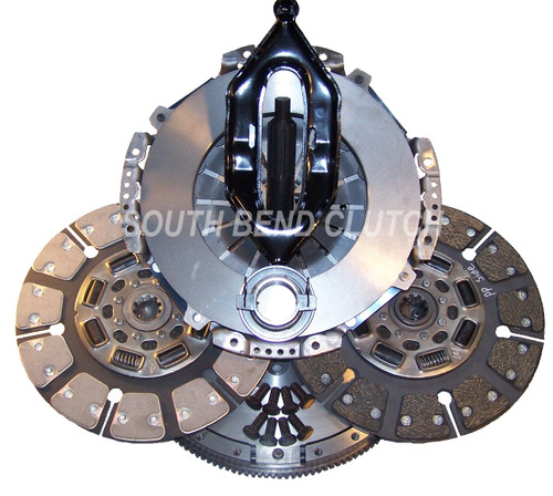 650hp Dodge Street Dual Disc Clutch South Bend Clutch (Hydraulics NOT Included) Dodge G56 Trans 2005.5+