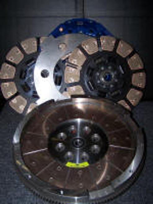 Ford 650HP Street Dual Disc Clutch SFDD3250-60 South Bend Clutch 6.0L 2004-2007
