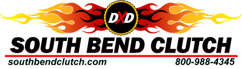 Solid Mass Flywheel 10701066-1 South Bend Flywheel Replacement Chevy GMC Duramax LB7 LLY 01-Sept05
