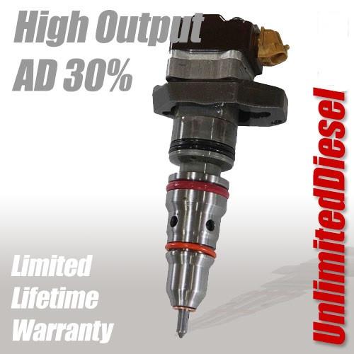 UDP High Output 30% Nozzles SPLIT Shot AD Performance Injector Set 1999-2003 Ford 7.3L Superduty