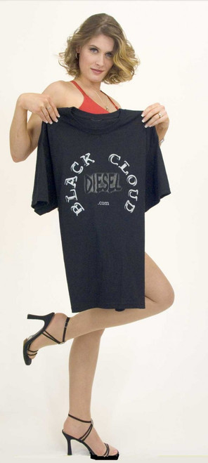 Black Cloud Diesel Logo T-Shirt Large