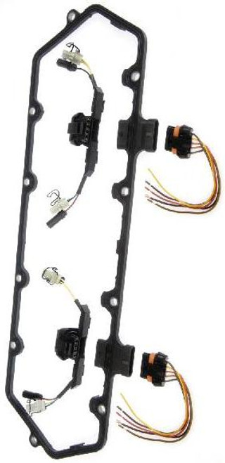Dorman 94-97 Valve Cover Gasket Kit w/Fuel Injector Wiring Harness 7.3L Ford