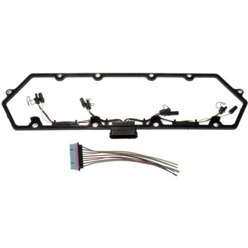 Dorman 99-03 Valve Cover Gasket Kit w/Fuel Injector Wiring Harness 7.3L Ford