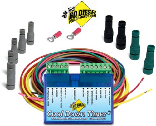 BD Turbo Timer 2 Cool Down Timer Dodge 1994-2012 Cummins 5.9L, Ford 1994-2013 7.3L / 6.0L / 6.4L / 6.7L, Chevy 2001-2010 Duramax 6.6L