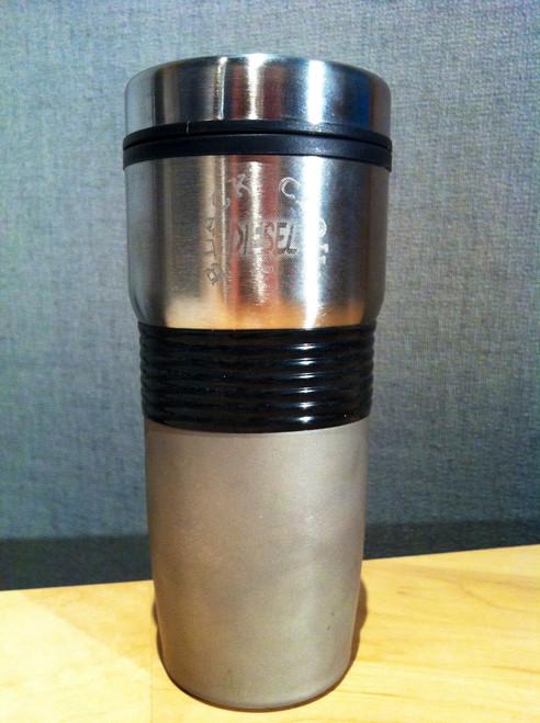 Black Cloud Diesel Travel Coffee Mug