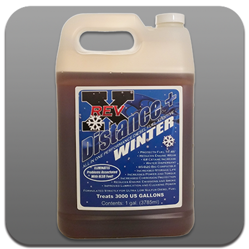WINTER DIESEL FUEL ADDITIVE DISTANCE+ PLUS COLD WEATHER FUEL TREATMENT 1 Gallon