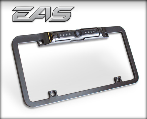 Edge Back-Up Camera Lecense Plate Mount For CTS & CTS2 (Black) #98202