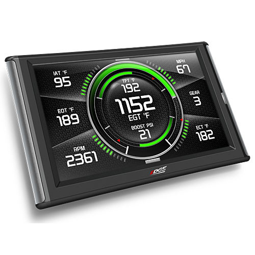 Edge Evolution CTS2 Diesel In-Cab Programmer Monitor with Digital Gauge Display (for OBDII Enabled Vehicles)