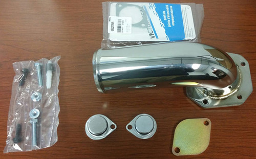 EGR Delete Kit with Elbow  2008-10 6.4L Ford Powerstroke