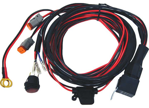 Wiring Harness for use with Rigid Industries D2 Dually LED Light Set RIG40196