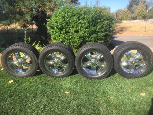 """22"""" BIG Wheels on HanKooK Tires"""