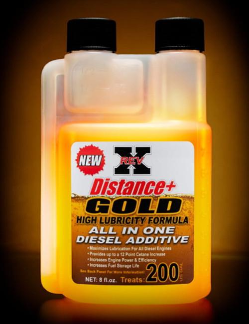 NEW! RevX Distance + GOLD - Diesel Fuel Additive Fuel Treatment