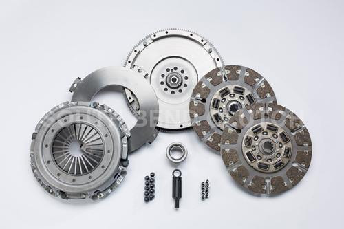 Ford 550hp (ORGANIC pads) Street Dual Disc Clutch South Bend Clutch 6SP Ford 6.4L 2007.5-2010