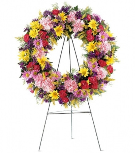 Eternal Garden Wreath