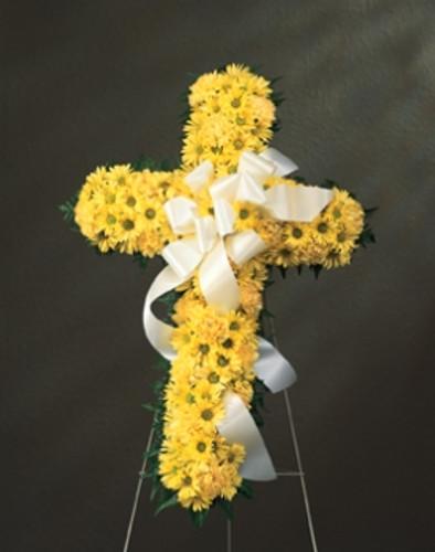 Yellow Daisy Cross