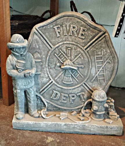 Fireman statuary