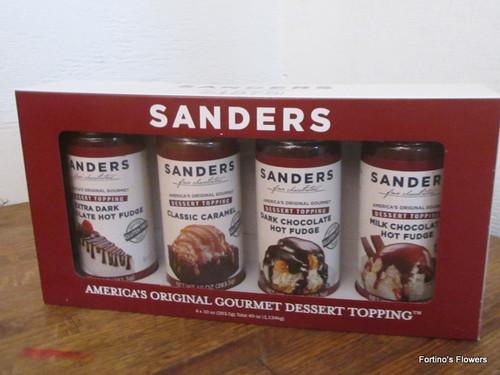 Sanders Dessert Topping 4 Pack