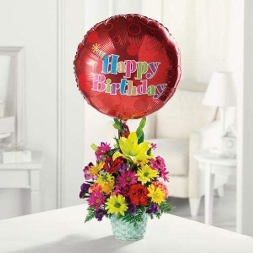Happy Birthday Basket