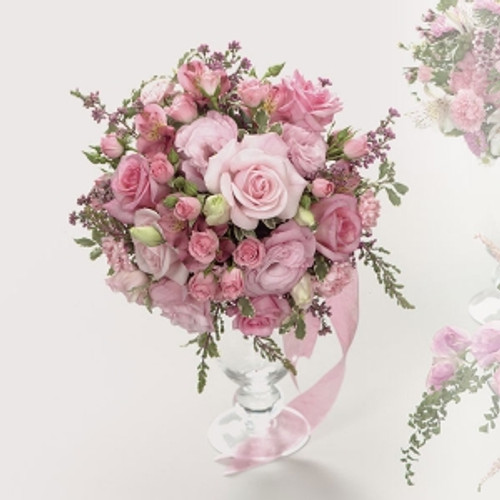 Fortino S Flowers And Gifts Pink Rose Bouquet