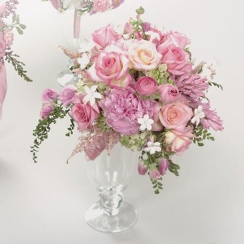 Pink Rose, Stephanotis and Hyacinth Bouquet