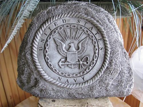 Military memorial stones