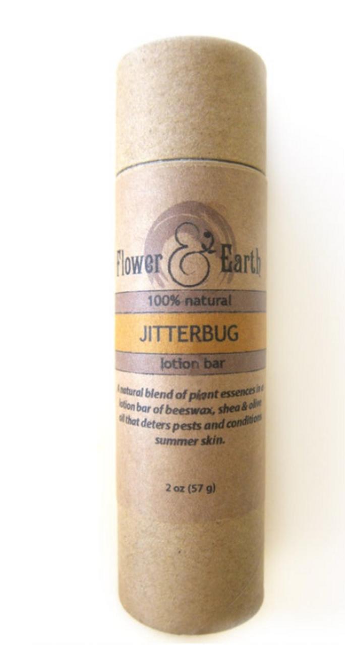 Flower & Earth Jitterbug Lotion Bar