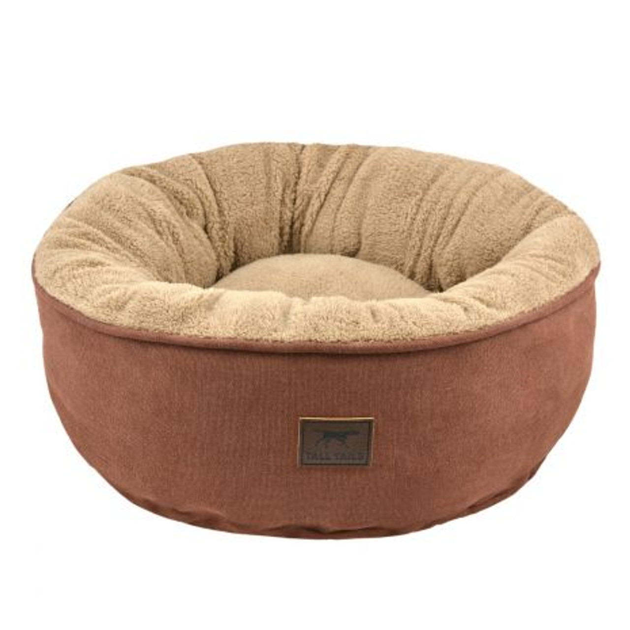 Tall Tails Donut Bed Brown SMALL
