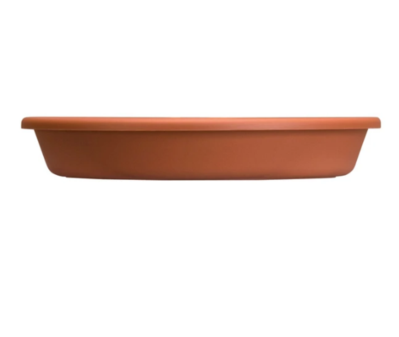 """Akro-Mills Plastic Saucer Clay Color 10"""""""