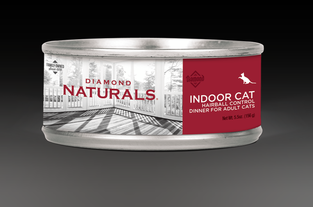 Diamond Naturals Cat Adult Hairball Can 5.5oz