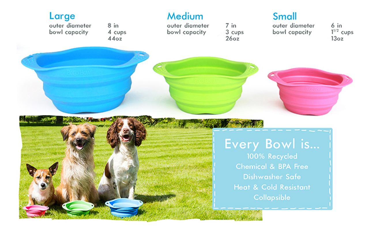 Beco Dog Travel Bowl Large