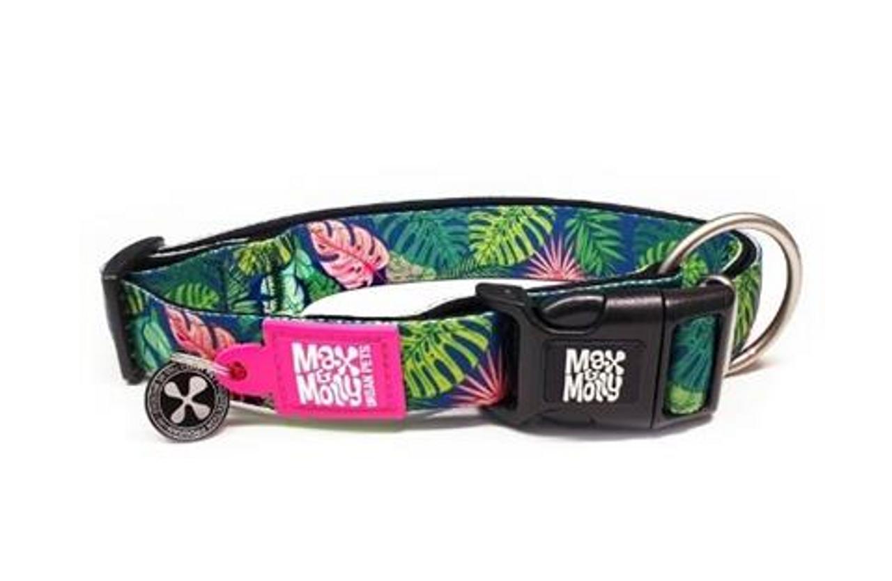 Max & Molly Smart ID Collar Tropical