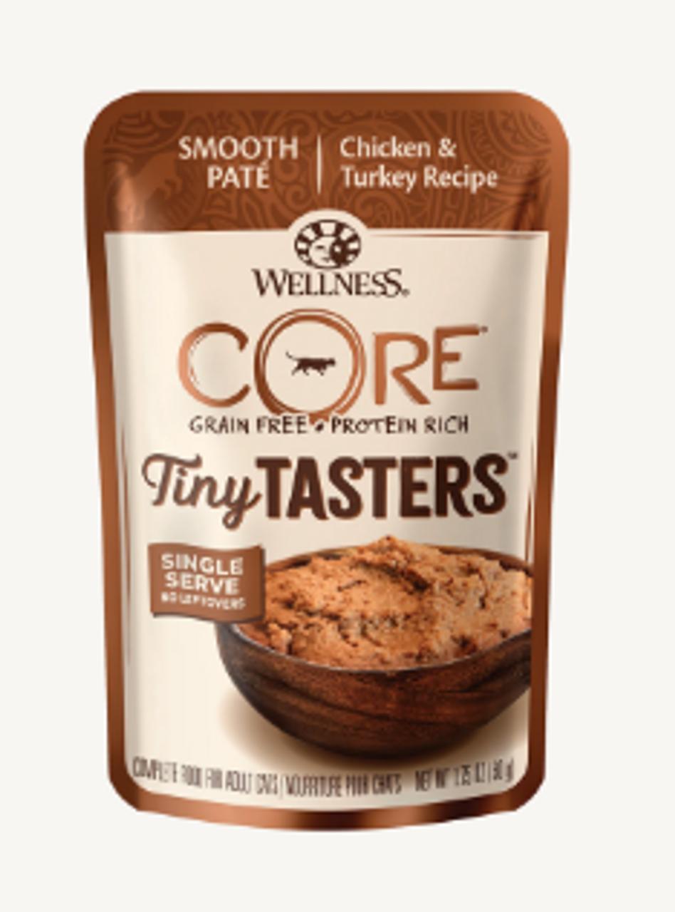 Wellness Cat Core Tiny Tasters Chicken & Turkey 1.75 oz