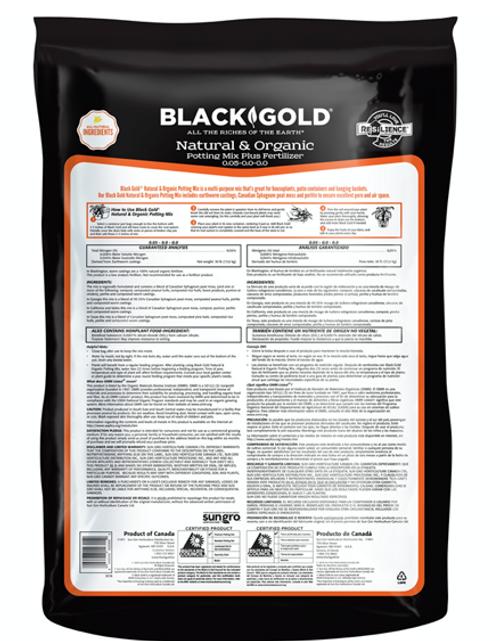 Black Gold Organic Potting Mix 8qt