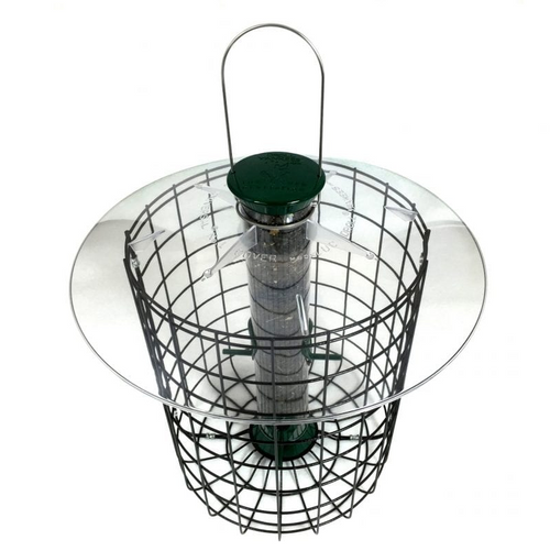 Droll Yankees Domed Cage 4 Port Feeder 15""
