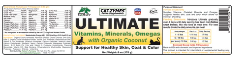 Nature's Farmacy Catzymes Ultimate 8oz.