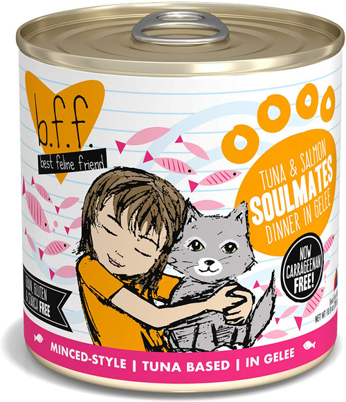 Weruva B.F.F. - Best Feline Friend Grain-Free Natural Canned Wet Cat Food, Original Recipes in Gravy