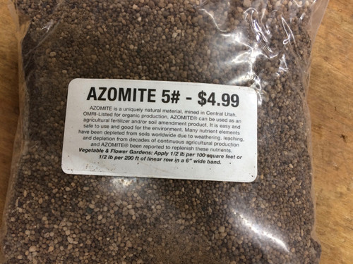 Azomite Soil Re-Mineralizer Granular 5#