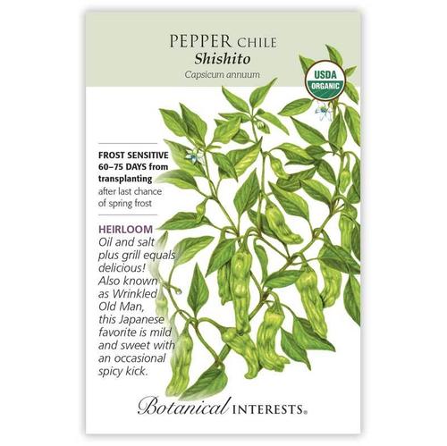 Botanical Interests Pepper Shishito