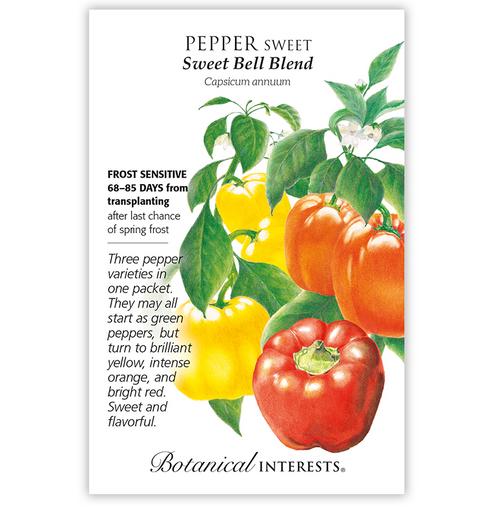 Botanical Interests Pepper Sweet Bells Blend